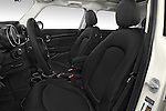 Front seat view of a 2015 MINI Cooper Hardtop S 4 Door Hatchback Front Seat car photos