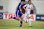 Chinese Taipei plays against Japan during the AFC U-16 Women's Championship China 2015 Group B match at the Xinhua Road Stadium on 07 November 2015 in Wuhan, China. Photo by Lucas Schifres / Power Sport Images
