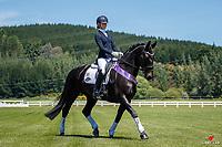 NZL-Sophie De Clifford rides Riverrock Nigella. 2020 NZL-Bates Saddles NZ Dressage Championships. NEC Taupo. Friday 20 November 2020. Copyright Photo: Libby Law Photography