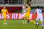 Jackson Irvine of Australia (C) in action during the AFC Asian Cup UAE 2019 Round of 16 match between Australia (AUS) and Uzbekistan (UZB) at Khalifa Bin Zayed Stadium on 21 January 2019 in Al Ain, United Arab Emirates. Photo by Marcio Rodrigo Machado / Power Sport Images