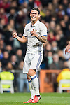 James Rodriguez of Real Madrid reacts during the La Liga match between Real Madrid and RC Deportivo La Coruna at the Santiago Bernabeu Stadium on 10 December 2016 in Madrid, Spain. Photo by Diego Gonzalez Souto / Power Sport Images