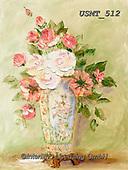 Malenda, FLOWERS, BLUMEN, FLORES, paintings+++++,USMT512,#f#, EVERYDAY