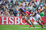XXX plays XXX during the Cathay Pacific / HSBC Hong Kong Sevens at the Hong Kong Stadium on 28 March 2014 in Hong Kong, China. Photo by Victor Fraile / Power Sport Images