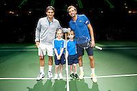14-02-13, Tennis, Rotterdam, ABNAMROWTT,  Roger Federer - Julien Benneteau