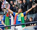 :: RANGERS' EL HADJI DIOUF LIFTS THE 2011 CO-OPERATIVE INSURANCE CUP ::