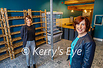 Sisters Selina O Connor (Killorglin) front right, and Monica Walsh (Lixnaw) in their Leaf and Larder Bakery and Delicatessen Killorglin and will open its doors to the public in early December.