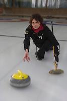 Europe/Italie/Vénétie/Dolomites/Cortina d'Ampezzo: Piste de Curling
