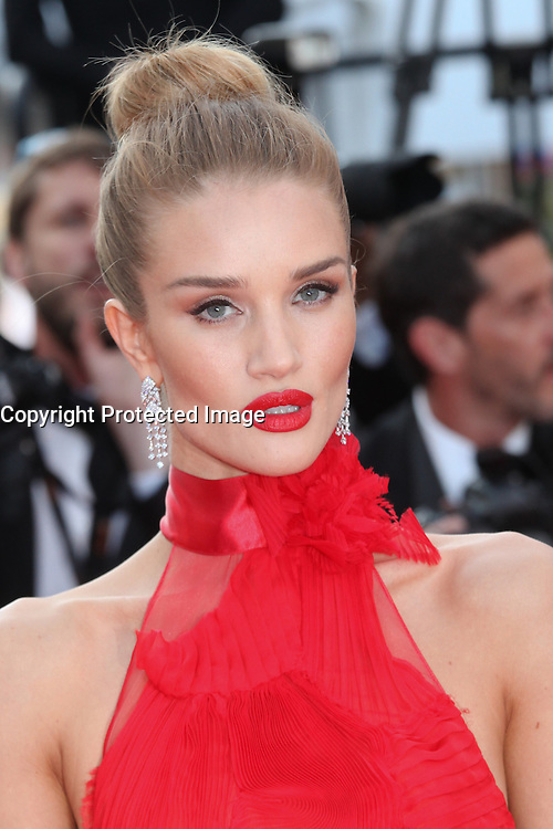 ROSIE HUNTINGTON-WHITELEY - RED CARPET OF THE FILM 'LA FILLE INCONNUE' AT THE 69TH FESTIVAL OF CANNES 2016