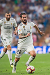 Isco Alarcon of Real Madrid in action during the La Liga 2018-19 match between Real Madrid and CD Leganes at Estadio Santiago Bernabeu on September 01 2018 in Madrid, Spain. Photo by Diego Souto / Power Sport Images