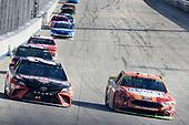 #20: Erik Jones, Joe Gibbs Racing, Toyota Camry Craftsman, #4: Kevin Harvick, Stewart-Haas Racing, Ford Fusion Busch Outdoors