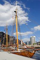 Sandtorhafen in der Hafencity,  Hamburg, Deutschland