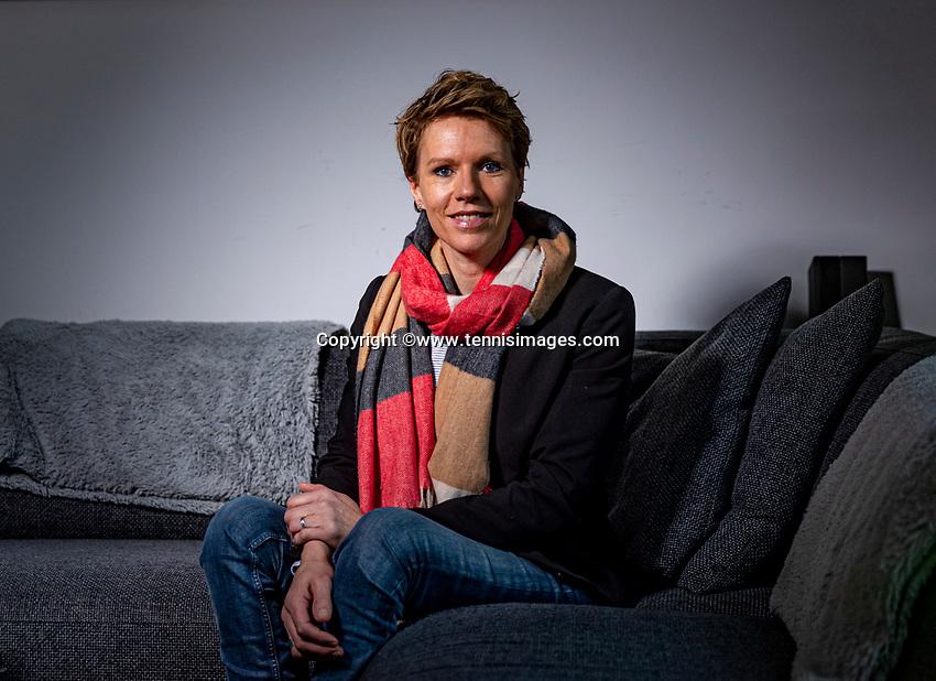 Netherlands, Januari 15,  2021, Woerden, Esther Vergeer (NED)<br /> Photo: Henk Koster/tennisimages.com