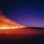 Prairie fire near Cottonwood Falls, Kansas, 1997