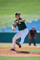 Josh Pyne (11) of Linton-Stockton High School in Bloomfield, IN during the Perfect Game National Showcase at Hoover Metropolitan Stadium on June 19, 2020 in Hoover, Alabama. (Mike Janes/Four Seam Images)