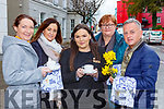 Ellen O'Doherty, Tracy Dillon, Ciara Forde, MAgs Burke and Eugene O'Sullivan launching the Irish Cancer Society Daffodil Day coffee morning which will be held in the Towers Hotel Killarney on Friday 6th March