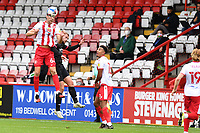 Luke Prosser of Stevenage F.C. during Stevenage vs Salford City, Sky Bet EFL League 2 Football at the Lamex Stadium on 3rd October 2020