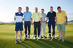 Taking part in the Past Kerry Captains Day at Waterville Golf Links on Friday were l-r; Vincent Devlin(Dooks 2017), KF Sec. Sean O'Shea(Waterville 2003), KF Captain John Fleming(Waterville 2002), Joe Carey(Tralee 1996), Paudie Landers(Tralee 1991) & John Griffin(Dooks 2012).