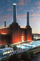 London: Battersea Power Station Model.