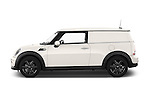 Car Driver side profile view of a 2014 MINI MINI COOPER CLUBVAN 5 Door Wagon 2WD Side View