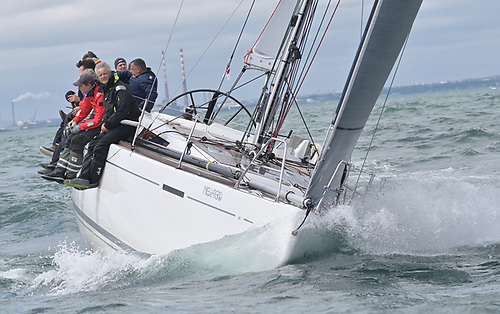 The Grand Soleil 44 Nieulargo (Murphy family of Royal Cork) continues to lead the 2021 Dun Laoghaire Dingle Race on Day Two