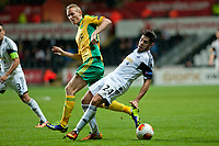 Thursday 24 October 2013  <br /> Pictured: Alejandro Pozuelo <br /> Re:UEFA Europa League, Swansea City FC vs Kuban Krasnodar,  at the Liberty Staduim Swansea