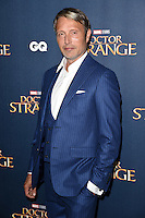 "Mads Mikkelsen<br /> at the ""Doctor Strange"" launch event, Westminster Abbey, London.<br /> <br /> <br /> ©Ash Knotek  D3189  24/10/2016"