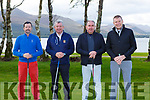 Niall and Micheal O'Donoghue, Patsy O'Donoghue and Brendan Herbert  playing in the Kerry GAA golf classic in O'Mahony's Point on Friday