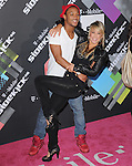 Chelsie Hightower and Romeo at The T-Mobile Sidekick G4 Launch held at a private lot in Beverly Hills, California on April 20,2011                                                                               © 2011 Hollywood Press Agency