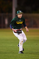 Garrett Clasen (47), from Casper, Wyoming, while playing for the Athletics during the Under Armour Baseball Factory Recruiting Classic at Gene Autry Park on December 27, 2017 in Mesa, Arizona. (Zachary Lucy/Four Seam Images)