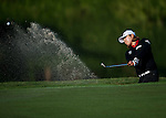 Min-Young Lee of Korea hits her shot during the Hyundai China Ladies Open 2014 on December 13 2014 at Mission Hills Shenzhen, in Shenzhen, China. Photo by Xaume Olleros / Power Sport Images