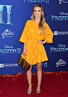 """LOS ANGELES, USA. November 08, 2019: Audrina Patridge at the world premiere for Disney's """"Frozen 2"""" at the Dolby Theatre.<br /> Picture: Paul Smith/Featureflash"""