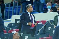 20th September 2021; Nou Camp, Barcelona, Spain; La Liga football league, FC Barcelona versus Granada CF;  Joan Laporta during the Liga match between FC Barcelona and Granada CF .