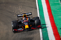 16th April 2021; Autodromo Enzo and Dino Ferrari, Imola, Italy; F1 Grand Prix of Emilia Romagna, Free Practise sessions;  33 VERSTAPPEN Max (nld), Red Bull Racing Honda RB16B