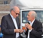 GAVINO ANGIUS E GIOVANNI VALENTINI<br /> MANIFESTAZIONE PER LA LIBERTA' DI STAMPA PROMOSSA DAL FNSI<br /> PIAZZA DEL POPOLO ROMA 2009