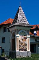 Slowenien. Wegheiligtum in Jereka