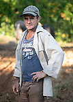 Hermans Entensa<br /> Topes de Collantes, Cuba<br /> November 20, 2019<br /> <br /> tilling field to plant garlic.<br /> plans harvest it in 4 months<br /> <br /> last year the crop wasn't so good.