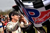 #7 Acura Team Penske Acura DPi, P: Helio Castroneves, Ricky Taylor celebrate the win in Victory Lane