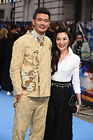 """Director Destin Daniel Cretton and Michelle Yeoh<br /> arriving for the """"Shang-Chi And The Legend Of The Ten Rings"""" premiere at Curzon Mayfair, London<br /> <br /> ©Ash Knotek  D3570  26/08/2021"""
