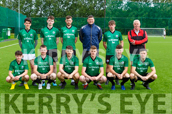 Castleisland green team that played a training game in their field on Sunday first game in the field since lockdown