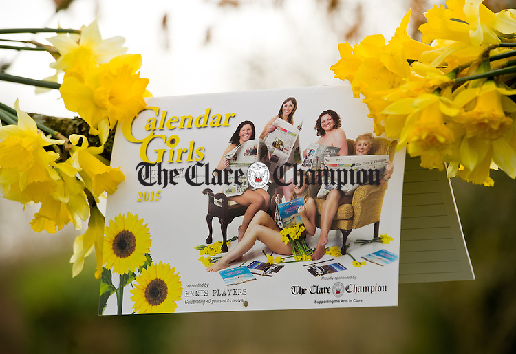 The Clare Champion sponsored Calendar Girls Calendar for Ennis Players production in Glor. Photograph by John Kelly.