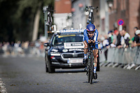 Omer Shapira (ISR/Canyon SRAM)<br /> <br /> 88th UCI Road World Championships 2021 – ITT (WC)<br /> Women Elite Time trial from Knokke-Heist to Brugge (30.3km)<br /> <br /> ©Kramon