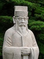 Königsgrab Wang Gon bei Kaesong, Nordkorea, Asien, UNESCO-Weltkulturerbe<br /> Royal tomb Wang Gon near Kaesong, North Korea, Asia, world heritage