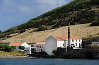 Centro do Mar in Porto Pim in Horta auf der Insel Faial, Azoren, Portugal