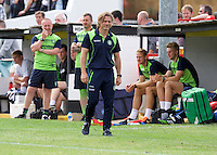 Manager Gareth Ainsworth of Wycombe Wanderers during the Friendly match between Maidenhead United and Wycombe Wanderers at York Road, Maidenhead, England on 30 July 2016. Photo by Alan  Stanford PRiME Media Images.