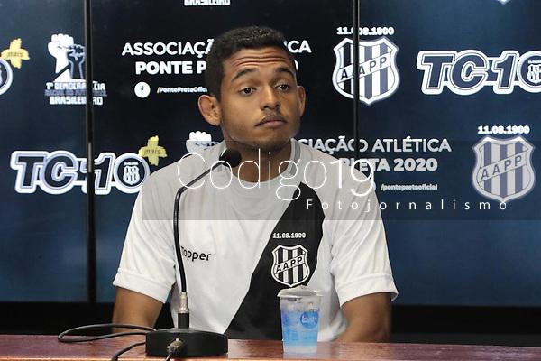 Campinas (SP), 21/01/2020 - Futebol / Ponte Preta - A equipe da Ponte Preta apresentou o jogador Dawhan nesta terça-feira (21), no Estádio Moises Lucarelli, na cidade de Campinas (SP).