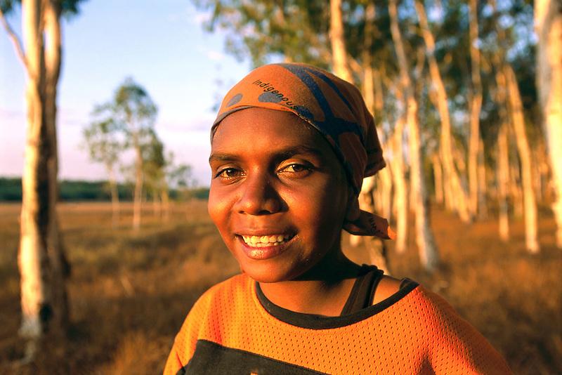 Amanda Ngallametta, Wanam Clan group,  Aurukun, Cape York Peninsula.