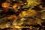 Water flows over rocks in Twisp River near Twisp, Okanogan Valley, Washington