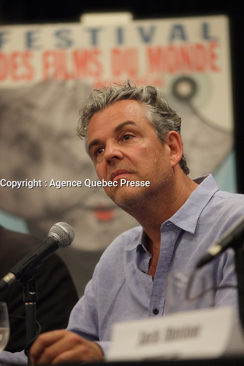 August 25 2012 - Montreal (Qc) CANADA -  News Conference for TWO JACKS with Danny Huston, actor  <br /> <br /> TWO JACKS is in the Official Competien of Montreal World Film Festival that run til September 3, 2012.<br /> <br /> Danny Huston is the son of filmmaker John Huston