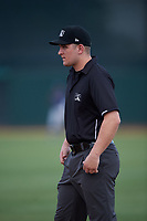 Umpire Kyle Levine during an Arizona League game between the AZL Padres 2 and AZL White Sox on June 29, 2019 at Camelback Ranch in Glendale, Arizona. The AZL Padres 2 defeated the AZL White Sox 7-3. (Zachary Lucy/Four Seam Images)