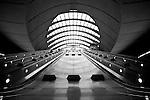 Canary Wharf tube station art